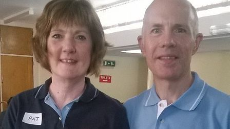Group organisers Richard and Pat Thorpe. Picture: The Sunshine Club