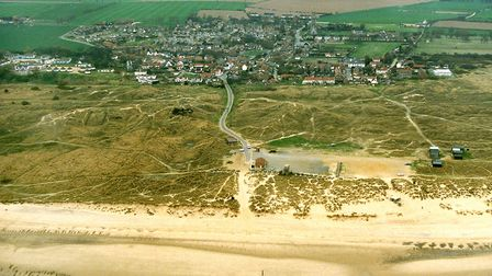Winterton beach in 1996. Photo: Mike Page