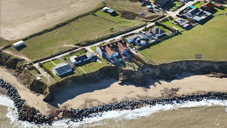 Happisburgh coast in 2010. Photo: Mike Page