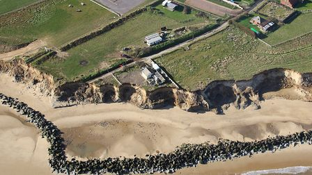 The Happisburgh coast in 2014. Photo: Mike Page