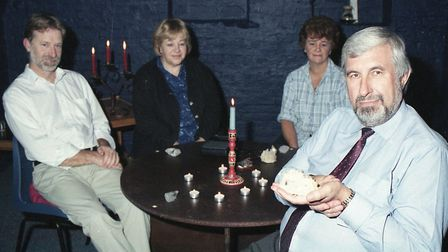 The Scole Experiment team. Pictured: Alan Bennett, Diana Bennett, Robin Foy and Sandra Foy. Picture: