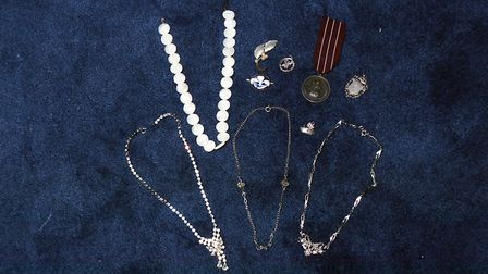 Items that were claimed to have appeared during the Scole Experiment. Picture: Denise Bradley