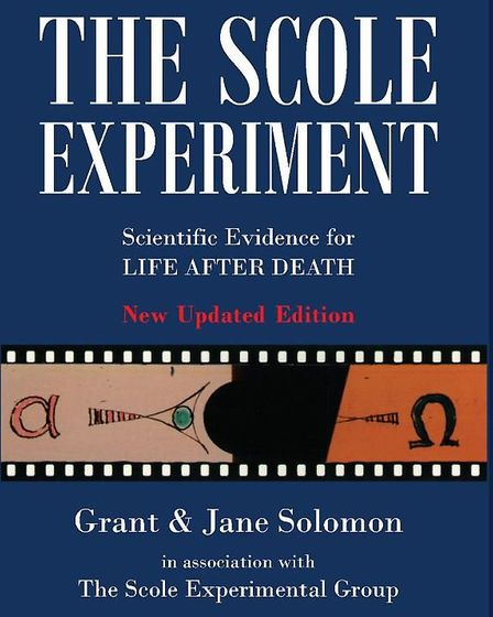 The non-fiction book about the Scole Experiment written by Grant and Jane Solomon. Picture: Campion