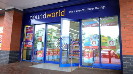 Poundworld administrators have announced 25 stores will close. Picture: Jane Barlow/PA Wire