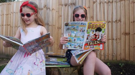 Children getting ready for the Summer Reading Challenge. Pic: Norfolk County Council.