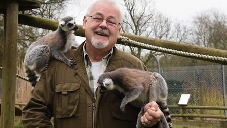 Martin Goymour, whose family founded the zoo prepares to celebrate it's 50th anniversary. Picture: D