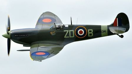 The Mark IX Spitfire MH434 will be one the many war time greats coming to the Old Buckenham Airshow