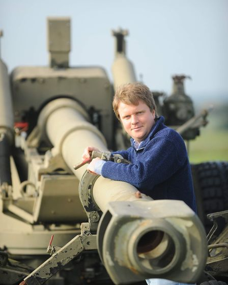 Explore the display of military vehicles at Old Buckenham, including a tank used in Goldeneye. Pictu