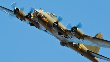 One of the heavyweights heading to Old Buckenham Airshow is the Sally B, the only flying B-17 Flyin