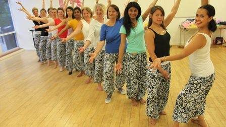 Students from the Grant Academy of Bollywood, run by Rebecca Grant, will be showing off their moves