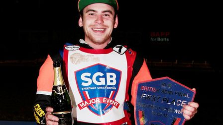 Jason Garrity has signed for King's Lynn Stars. Picture: Andy Garner