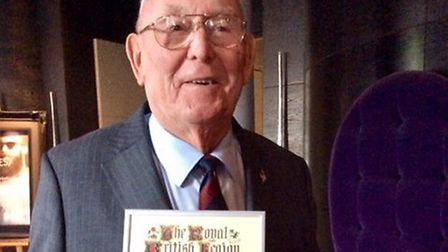 Roy Hill, 80, of Plantation Drive, Sprowston, received the gold badge at the organisation's national