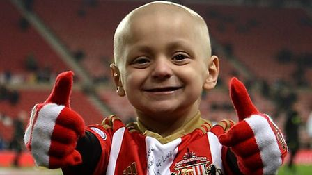 Bradley Lowery was diagnosed with neuroblastoma when he was 18 months old and died last year at the