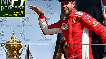 Sebastian Vettel helepd extend his and Ferrari's lead in the 2018 Formula 1 championships with victo