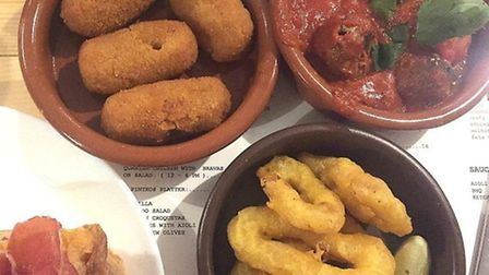 Tapas at Alley Olé in Norwich.