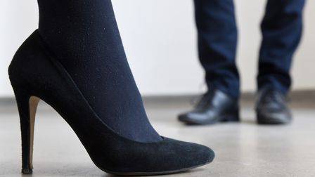 """Women at the Presidents Club dinner in January were allegedly told to were """"sexy"""" black shoes. Pictu"""
