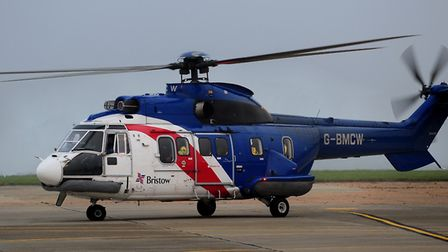 A Bristow's helicopter. Photo: Bill Smith