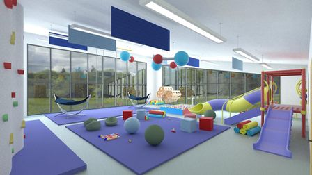 An artist's impression of how the new school could look. Picture: Wensum Trust