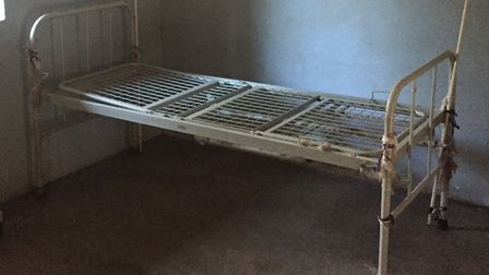 One of the beds for patients. Picture: Mark Stubbs