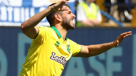 Nelson Oliveira's future at Carrow Road remain a hot topic for many fans Picture by Paul Chesterton/