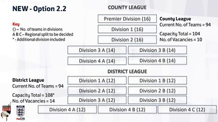 The proposed Norfolk county and district league structure for the 2019-20 season Picture: Norfolk FA