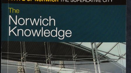 The Norwich Knowledge, a guide to Greater Norwich by Michael Loveday. Picture: Denise Bradley