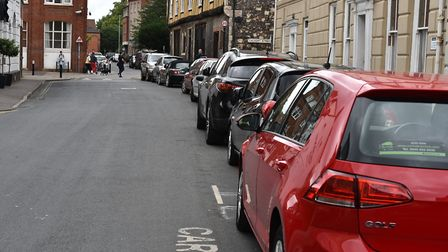 Hot spots around norwich city centre where parking fines are on the rise.ColegateByline: Sonya Dunca