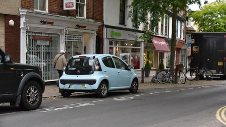 Hot spots around norwich city centre where parking fines are on the rise.St GilesByline: Sonya Dunca