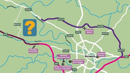 Consultation over whether people want to see a Western Link to connect the Northern Distributor Road