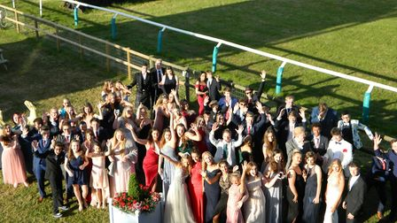 Students celebrated their five years at school. Picture: Supplied by Alderman Peel High School.