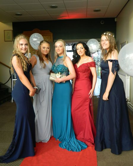 Pupils enjoyed their final night together. Picture: Supplied by Alderman Peel High School.