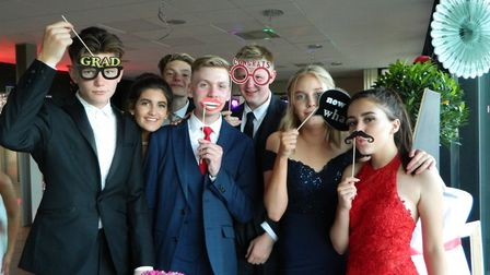 Pupils enjoyed dressing up for the prom. Picture: Supplied by Alderman Peel High School.