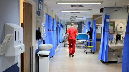 File photo of a ward in a hospital. . Photo: Peter Byrne/PA Wire