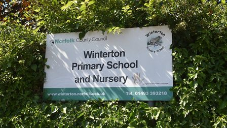 Parents and pupils and Winterton Primary School and Nursery are angry at the proposed closure.Pictur
