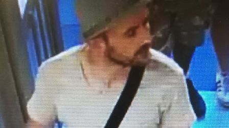 A man police want to speak to after a theft from Boots in Anglia Square. Picture: Norfolk Police