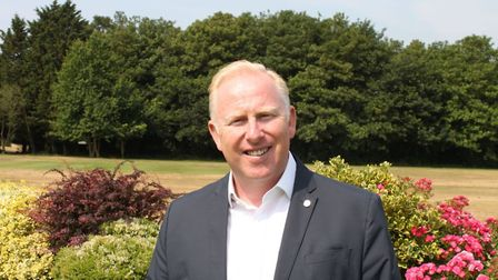 Phil Grice, general manager at the Royal Norwich Golf Club. Picture:Royal Norwich Golf Club