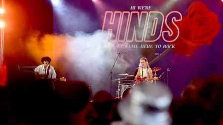 Hinds on the BBC Music Stage at Latitude Festival 2018.Picture: Nick Butcher