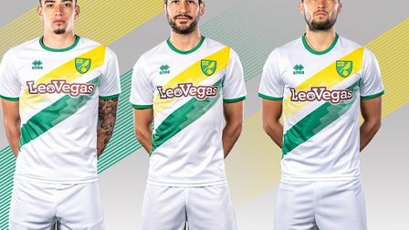 The new Norwich City away kit has been revealed. PHOTO: NCFC