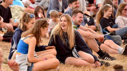 The comedy tent at the 2018 Latitude Festival.Picture: Nick Butcher