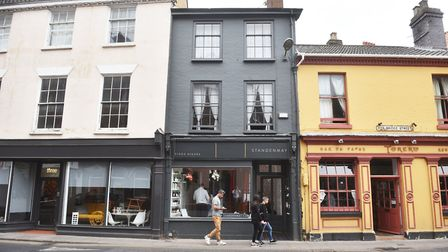 Owners of Standenmay hair Salon, in Magdalen Street, Norwich, are in dispute with Norwich City Counc