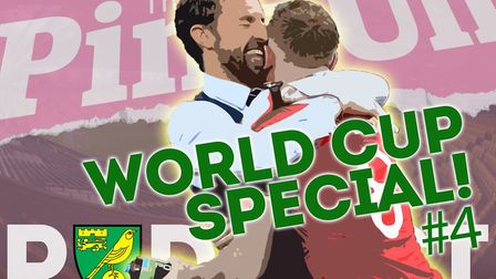 The PinkUn Podcast crew react to England reaching the World Cup 2018 semi-finals and Norwich City se