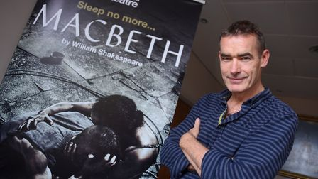 National Theatre director Rufus Norris who is bringing Macbeth to the Norwich Theatre Royal. Picture