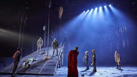 The London cast of the National Theatre's production of Macbeth.Photo: Brinkhoff-Moegenburg
