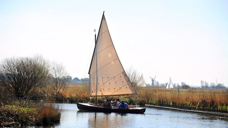 The Norfolk Broads.Picture: James Bass