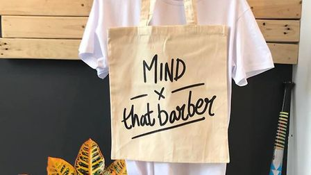 T-shirts launched by That Barber. Picture: Craig Birtchnell