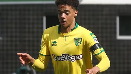 Jamal Lewis of Norwich in action during the Sky Bet Championship match at Carrow Road, NorwichPictur