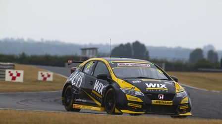 Jack Goff was fastest in pre-event testing at Snetterton and will be keen to claim pole position as