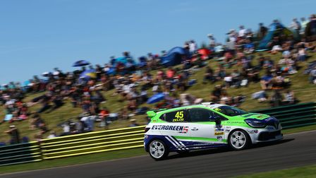 Dereham''s Dan Zelos on his way to a best finish of the season at the previous Renault UK Clio Cup r