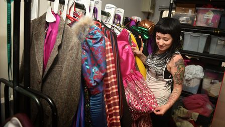 Norwich Theatre Royal costume department. Designer Kirsteen Wythe.Picture: ANTONY KELLY