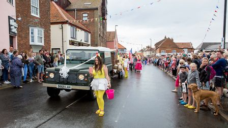 Crowds of spectators lined the streets of Wells to watch last year's Carnival. Picture: Lee Blanchfl